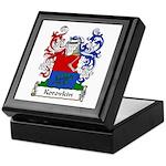 Korovkin Family Crest Keepsake Box