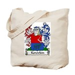 Korovkin Family Crest Tote Bag