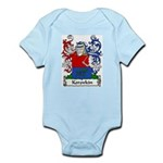 Korovkin Family Crest Infant Creeper