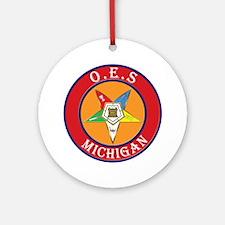 Michigan OES Ornament (Round)