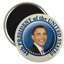 President Obama inauguration Magnet