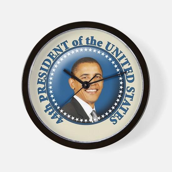 President Obama inauguration Wall Clock