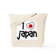 I Love Japan Tote Bag