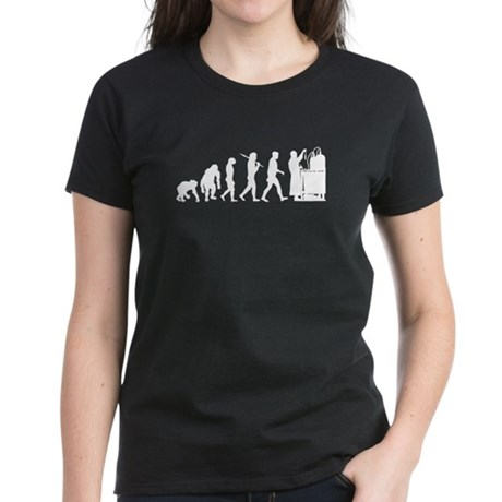 Evolution of the Scientist Women's Dark T-Shirt