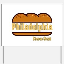 Philadelphia Cheesesteak Yard Sign