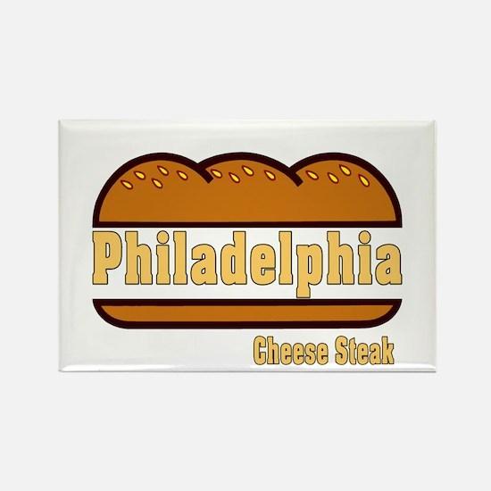 Philadelphia Cheesesteak Rectangle Magnet
