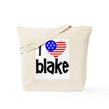 I Love James Blake Tote Bag