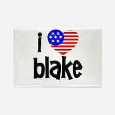 I Love James Blake Rectangle Magnet