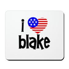 I Love James Blake Mousepad