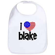 I Love James Blake Bib