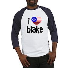 I Love James Blake Baseball Jersey