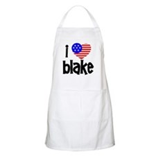 I Love James Blake BBQ Apron