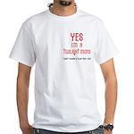 Twilight Mom White T-Shirt