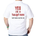 Twilight Mom Golf Shirt
