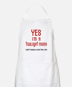 Twilight Mom BBQ Apron