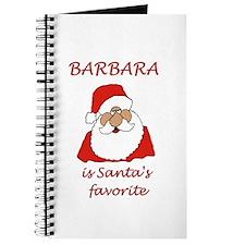 Barbara Christmas Journal