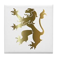 Cute Lion king Tile Coaster