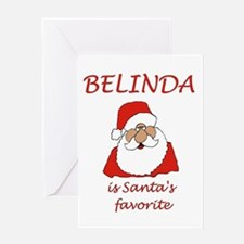 Belinda Christmas Greeting Card