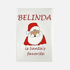 Belinda Christmas Rectangle Magnet