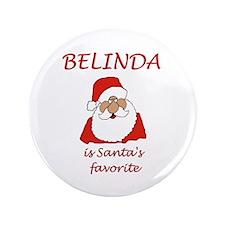"Belinda Christmas 3.5"" Button"