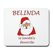 Belinda Christmas Mousepad