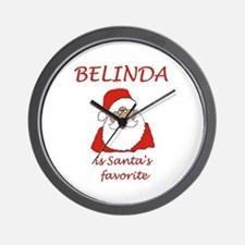 Belinda Christmas Wall Clock