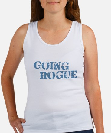 Blue Going Rogue Women's Tank Top