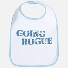 Blue Going Rogue Bib