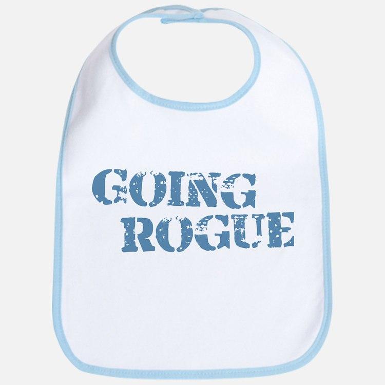 Blue Going Rogue Bib