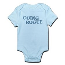 Blue Going Rogue Infant Bodysuit