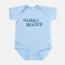 Blue Going Rogue Infant Bodysuit