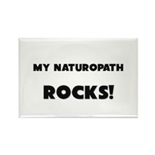 MY Naturopath ROCKS! Rectangle Magnet