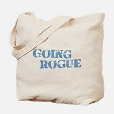Blue Going Rogue Tote Bag