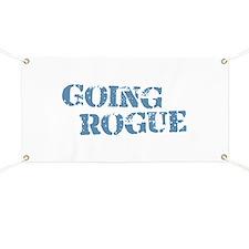 Blue Going Rogue Banner