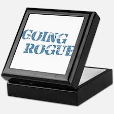 Blue Going Rogue Keepsake Box