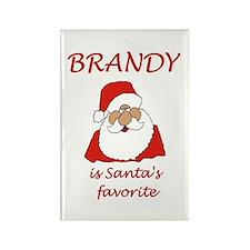 Brandy Christmas Rectangle Magnet