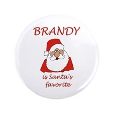 """Brandy Christmas 3.5"""" Button (100 pack)"""