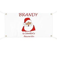 Brandy Christmas Banner