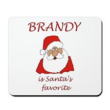 Brandy Christmas Mousepad