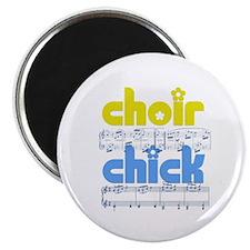 "Choir Chick 2.25"" Magnet (100 pack)"