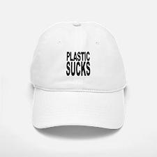 Plastic Sucks Baseball Baseball Cap