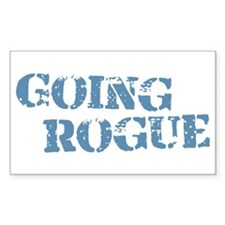 Blue Going Rogue Decal