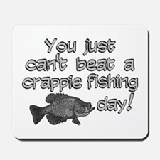 Crappie Fishing Day Mousepad