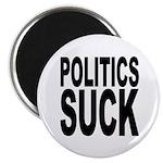 Politics Suck Magnet