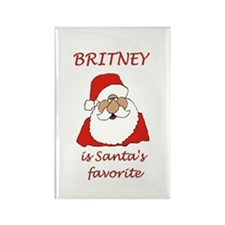 Britney Christmas Rectangle Magnet