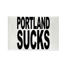 Portland Sucks Rectangle Magnet