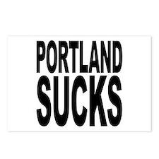 Portland Sucks Postcards (Package of 8)