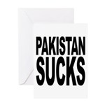 Pakistan Sucks Greeting Card