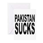 Pakistan Sucks Greeting Cards (Pk of 10)