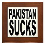 Pakistan Sucks Framed Tile